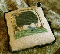 Blackie Pin Cushion