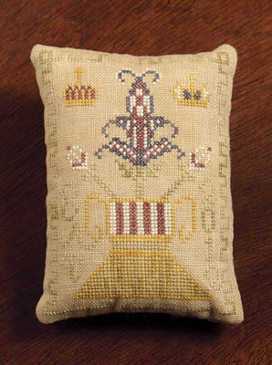 Crown And Flower Pin Cushion