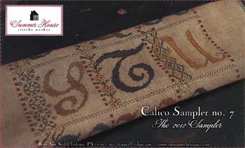 Calico Sampler #7- S T U