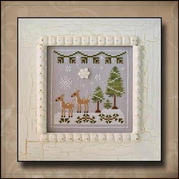 Frosty Forest 2-Snowy Deer