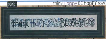 Think Happy Be Happy Row