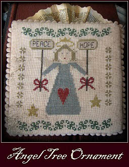 Christmas Tree Ornaments-Angel
