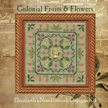 Colonial Fruits & Flowers (includes threads & charms)
