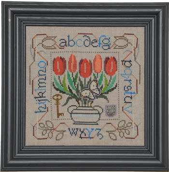 Potted Posies Sampler - Tulips