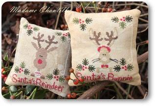 Santa's Reindeer & Bunnie