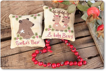 Santa's Bear & Baby Bears