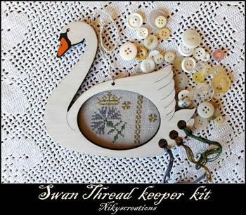 Swan Thread Keeper Kit