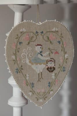 Coeur De Poule Blanche (WhiteHen Heart)