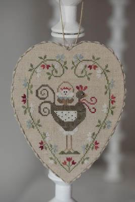 Coeur De Poule Grise (Gray HenHeart)