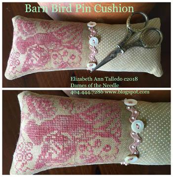 Barn Bird Pin Cushion