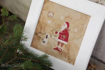 Santa And The Dog