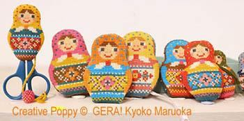 Matryoshka Needlework Set