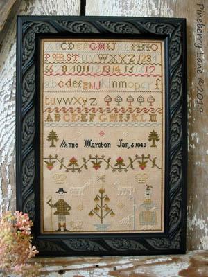 Anne Marston 1843