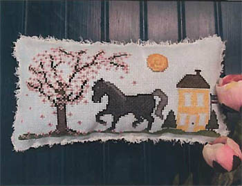 Big Black Horse And The CherryTree