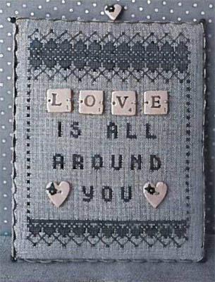Love - Scrabble 1 (w/buttons)