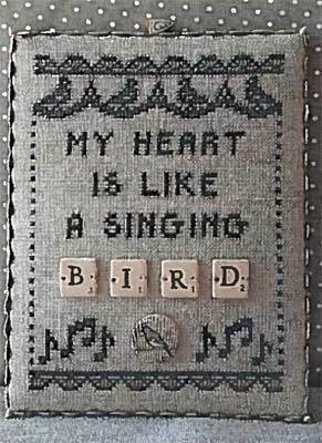 Bird - Scrabble 2 (w/buttons)