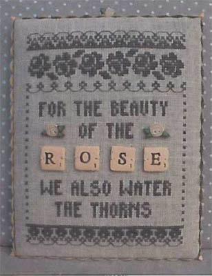 Rose - Scrabble 3 (w/buttons)
