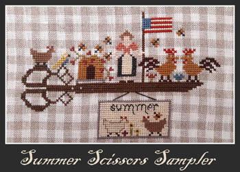 Summer Scissors Sampler