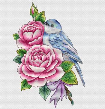Rose And Bird