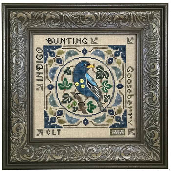 Birdie & Berries - Indigo Bunting