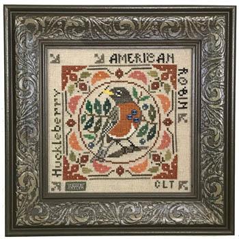 Birdie & Berries - American Robin
