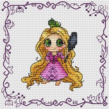 Baby Princess Rapunzel