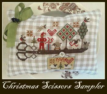 Christmas Scissors Sampler