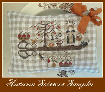Autumn Scissors Sampler
