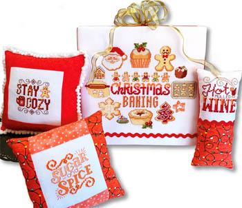 Christmas Baking Motifs