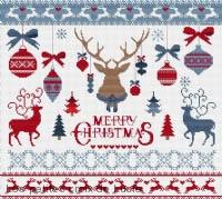 Scandinavian Christmas Magnet
