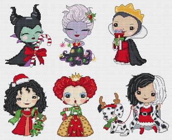 Princesses Of Evil Celebrate Christmas