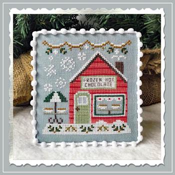 Snow Village 5 - Frozen Hot Chocolate Shop
