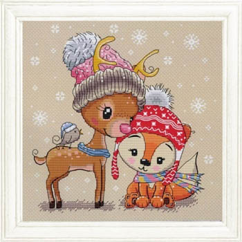 Cute Deer Fox And Friend
