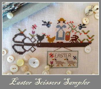 Easter Scissors Sampler