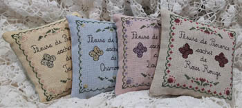 Flowers Of Provence Sachet Set