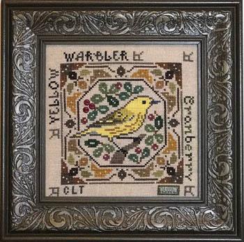 Birdie & Berries - Yellow Warbler