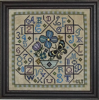 Sampler Tile - Blue