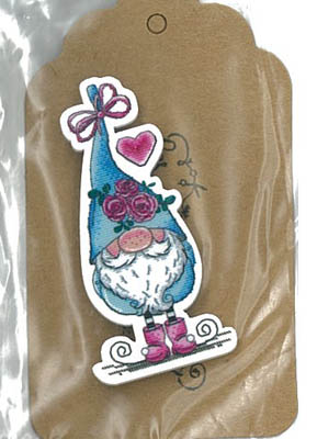 Love Gnome Magnet (Gnome withblue hat)