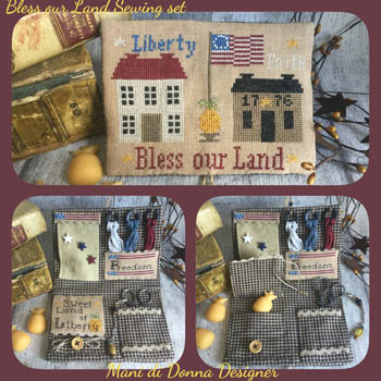 Bless Our Land Sewing Set