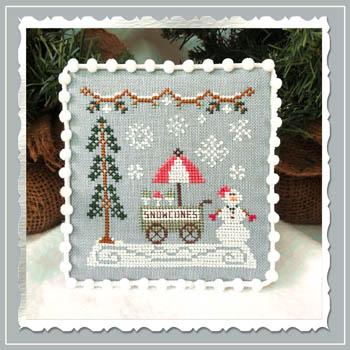 Snow Village 11 - Snow Cone Cart