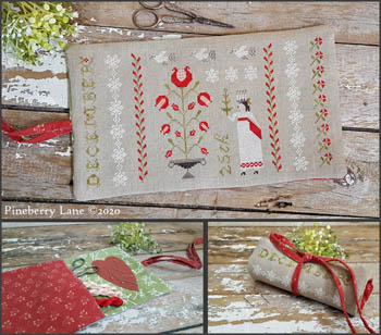Christmastime Sewing Roll