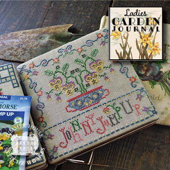 Ladies Garden Journal 5 - Johnny Jump Up