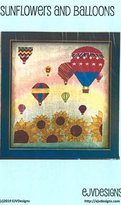 Sunflowers And Balloons