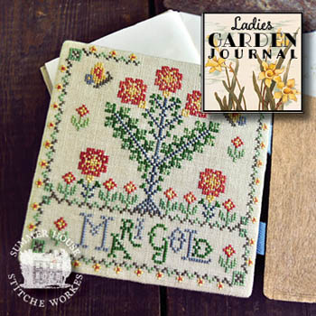Ladies Garden Journal 6 - MariGold