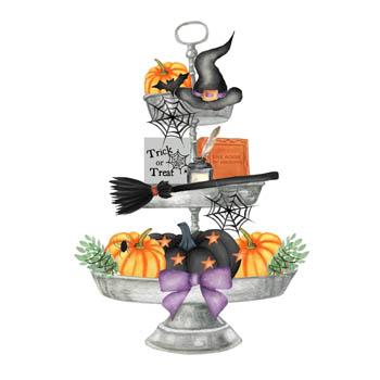 Halloween Tray Magnet
