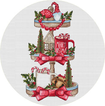 Christmas Tray Magnet