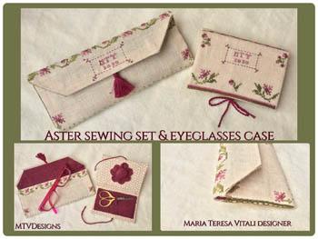 Aster Sewing Set & EyeglassesCase