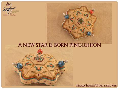 New Star Is Born Pincushion
