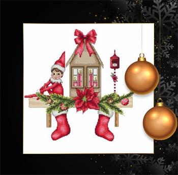 Scandi Christmas Elf