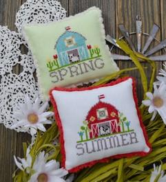 Bitty Barns - Spring & Summer